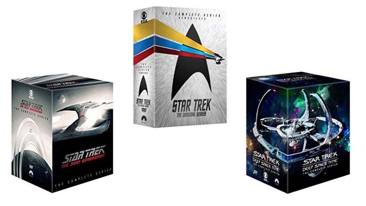 Geek Daily Deals 120118 star trek box sets