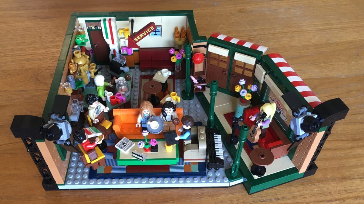 PIVOT! Brand-New 'Friends' LEGO Central Perk Set Comes Out ...