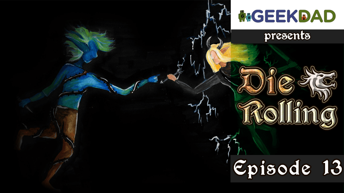 D&D Actual Play | GeekDad.com presents DieRolling: The Star Engine | Episode 13