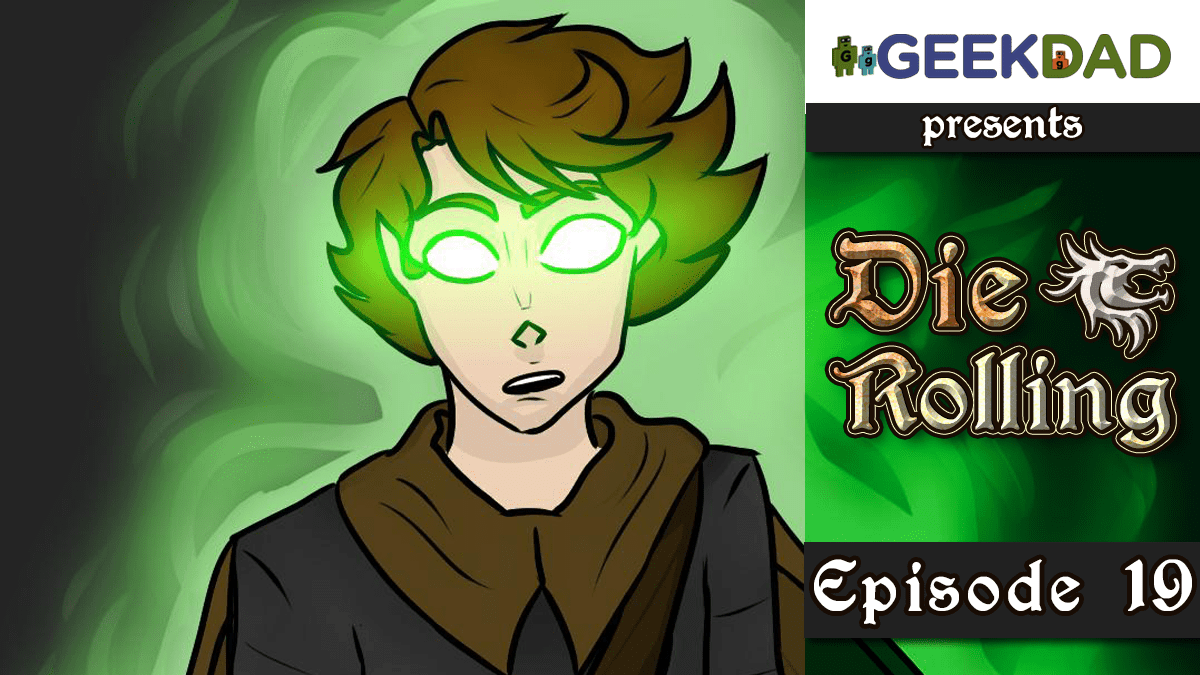 D&D Actual Play | GeekDad.com presents DieRolling: The Star Engine | Episode 19