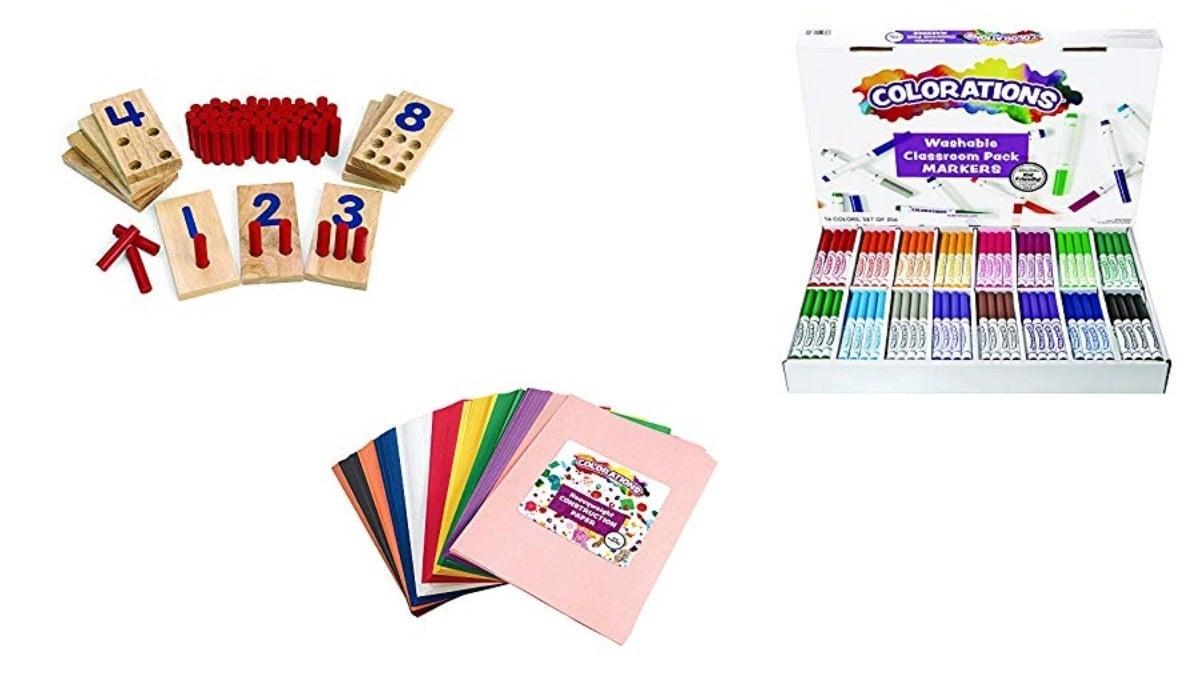Geek Daily Deals 020620 classroom supplies