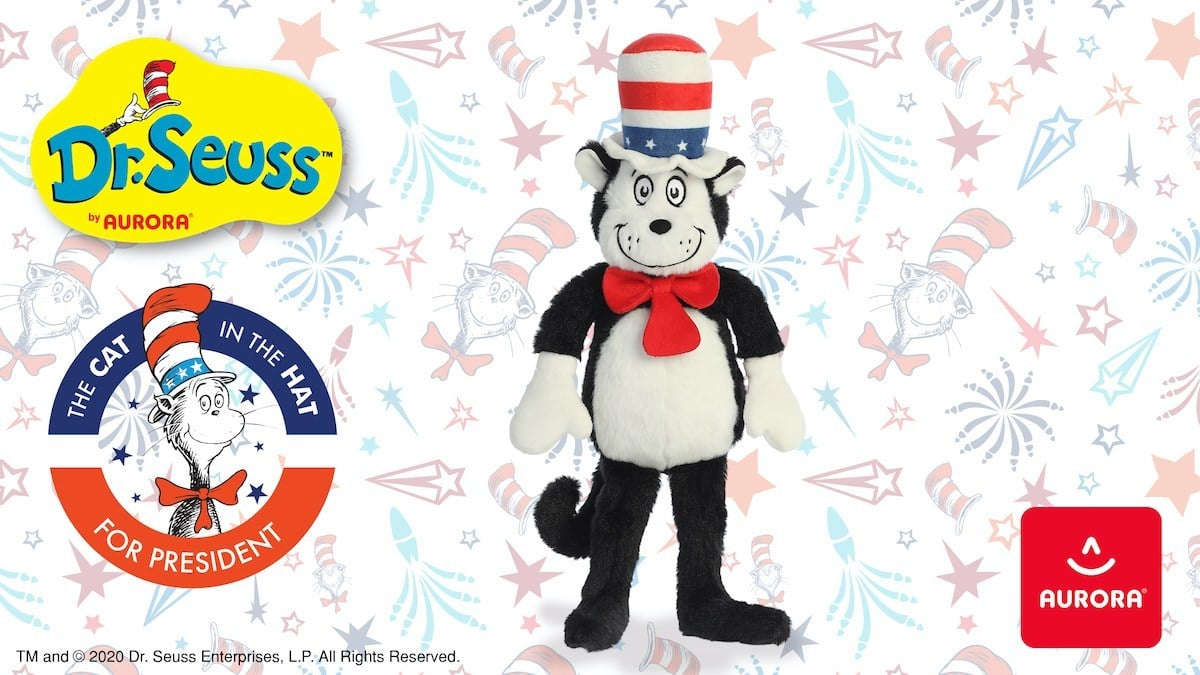 cat in the hat for president landscape