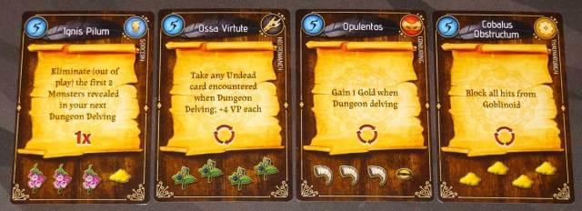Lizard Wizard Dungeon spells