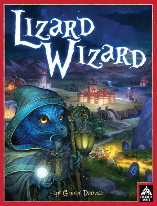 Lizard Wizard box cover