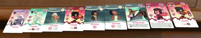 Steven Universe: Beach-a-Palooza hand of cards