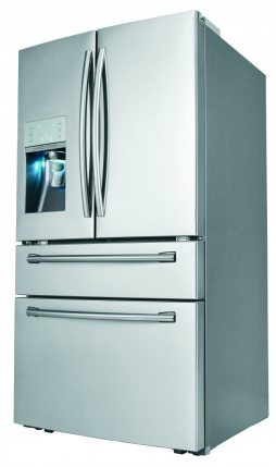 Does Your Fridge Make Soda? Samsung's RF31FMESBSR Does.