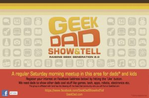 GeekDad Show And Tell poster