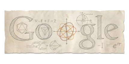 Happy Birthday, Euler and da Vinci!