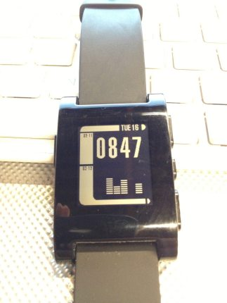 With Pebble Smart Watch OS Update We Now Have LCARS and Silly Walks