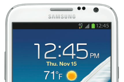 Enter To Win a Samsung Galaxy Note II