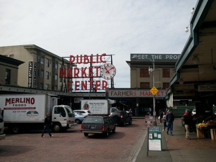 Enjoy Seattle's Pike Place Market in the Spring