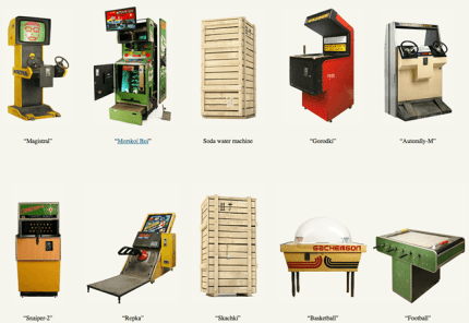A Museum for Soviet-era Arcade Games