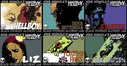 Black Phoenix Alchemy Lab: The Magic of Hellboy