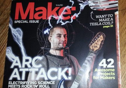 Arc Attack At Maker Faire 2013