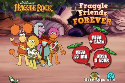 Read Your Cares Away With the Fraggle Friends Forever App