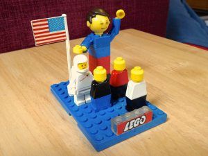 Just look at the Lego logo!
