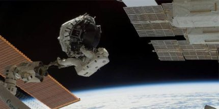 ISS Crew Preparing for an Emergency Spacewalk