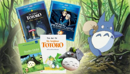 My Neighbor Totoro and Howl's Moving Castle: Blu-ray At Last! PLUS! GHIBLI GIVEAWAY PACK!