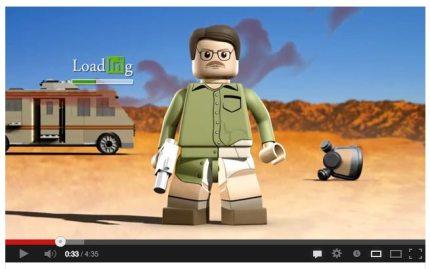 Breaking Bad, Lego Style