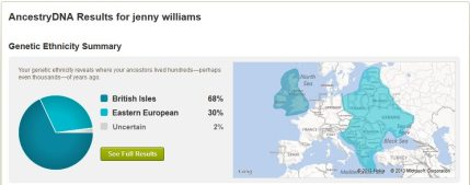Follow-up: AncestryDNA Sometimes Gives Surprising Results