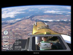 Space Selfie mockup