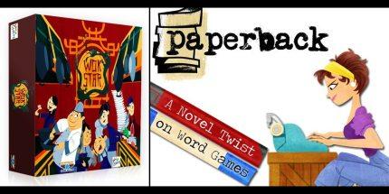 Tim Fowers' Kickstarter Double-Header: Wok Star and Paperback