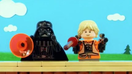 Happy Father's Day from LEGO Star Wars