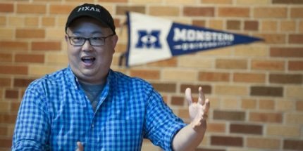 Peter Sohn, Voice of 'Squishy' in Monsters University, Proves Nice Guys Sometimes Do Finish First