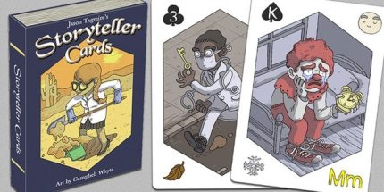 Shuffle Up a Tale With Storyteller Cards