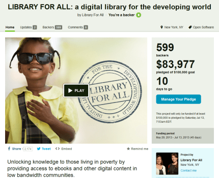 Geek Dads, Please Help! — Library For All