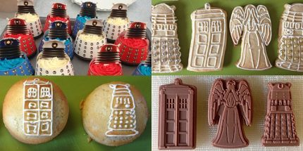 Product Review: Doctor Who Bakeware Range From Lakeland