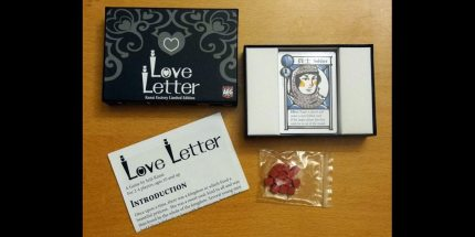Love Letter: Now Available in Kanai Factory Limited Edition