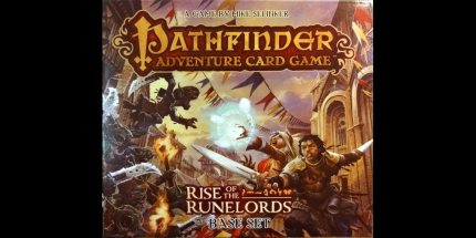 My 2013 Board Game of the Year: Pathfinder Adventure Card Game
