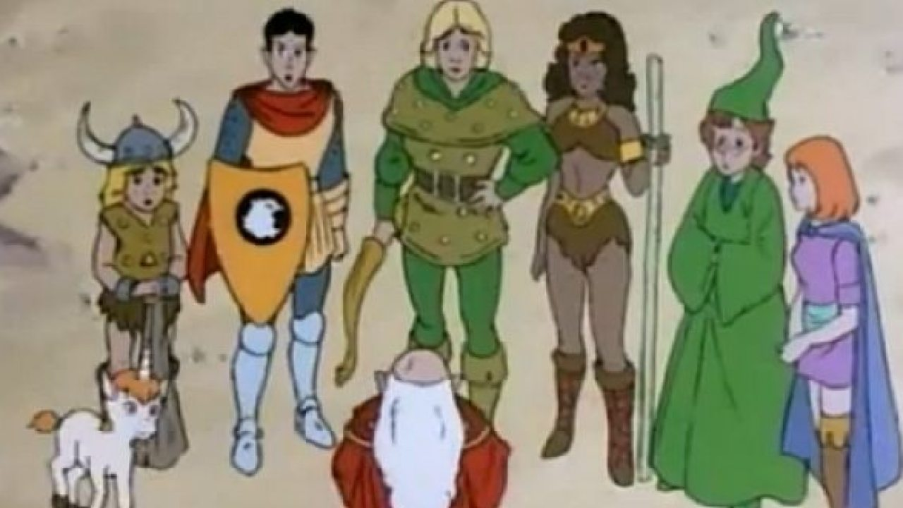 dungeons and dragons tv show