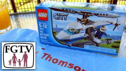 Rare LEGO Helicopter (4473) Only Available Via In-Flight Magazine