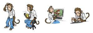 Code Monkey Concept Sketches