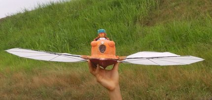 Excellent R/C Castles in the Sky Ornithopter