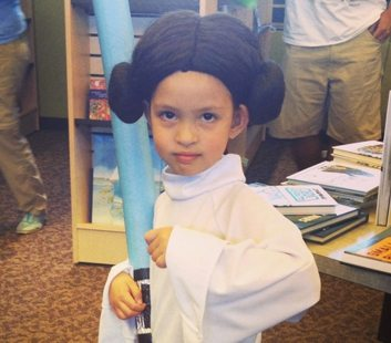 Star Wars Reads Day Kids Cosplay
