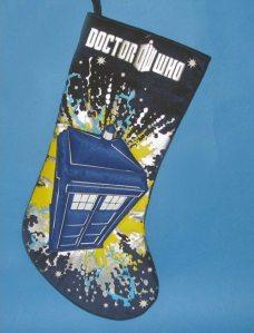 TARDIS Stocking ~$10