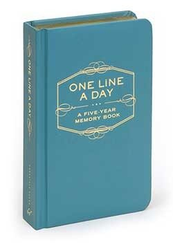 Write Down Your Life, One Line a Day