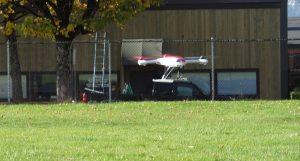 Blade 350 QX in flight