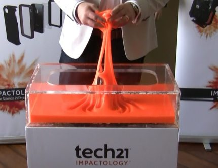 Tech21: Using Science to Provide Impact Protection for Mobile Devices