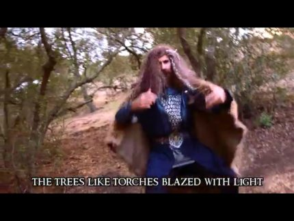 Get Your Hobbit Hip-Hop With This Misty Mountains Rap