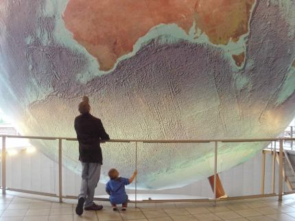 Geeky States of America: Maine's Scale Model of Planet Earth