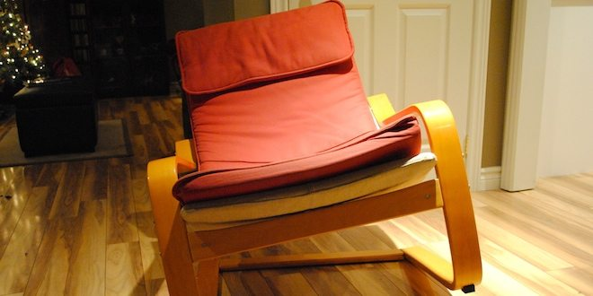 ikea poang chair meets its match a pair of 11 year old video gamers geekdad. Black Bedroom Furniture Sets. Home Design Ideas