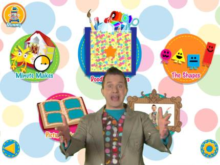 Let's Make It With the Mister Maker App