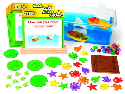 STEM Science Stations Float Kids' Boats
