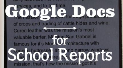 Google Docs: The Future of School Reports