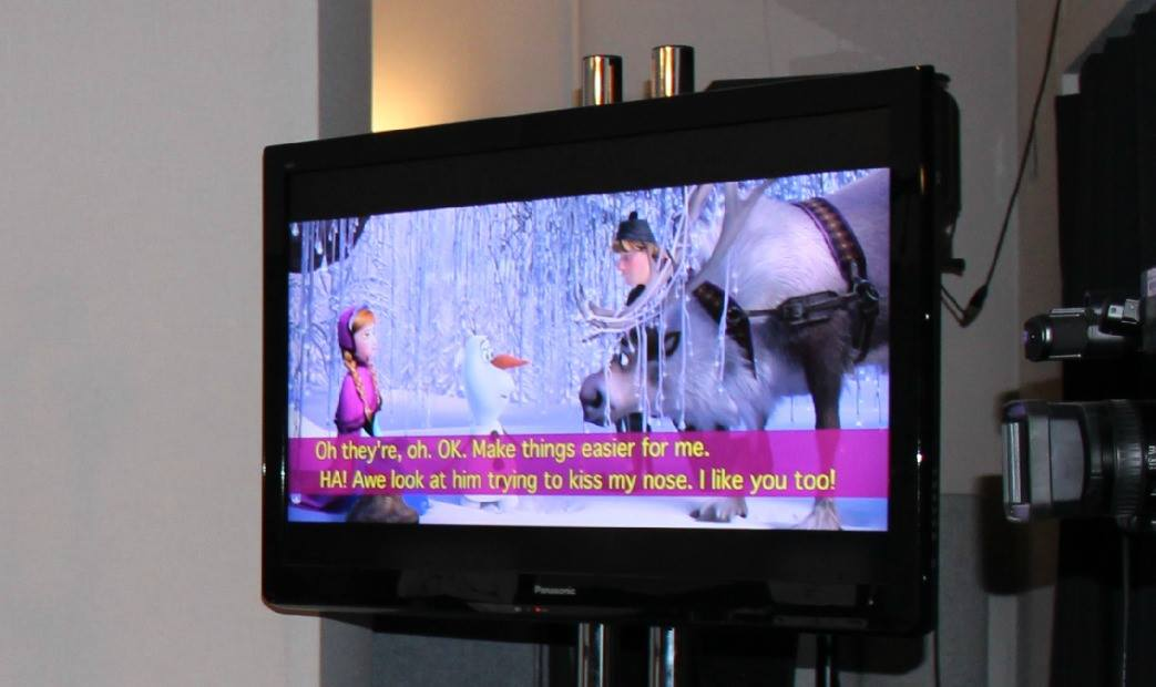 Disney Trip: Fun With Frozen's ADR