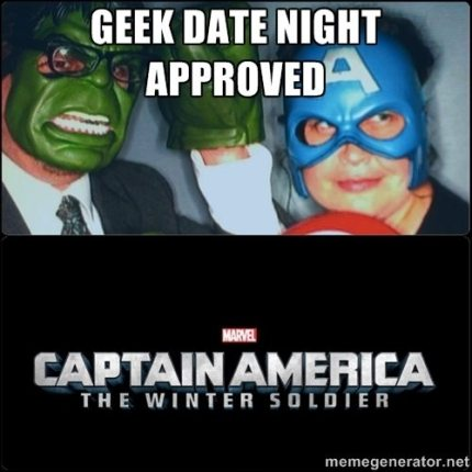 Captain America: The Winter Soldier, Geek Date Night Approved